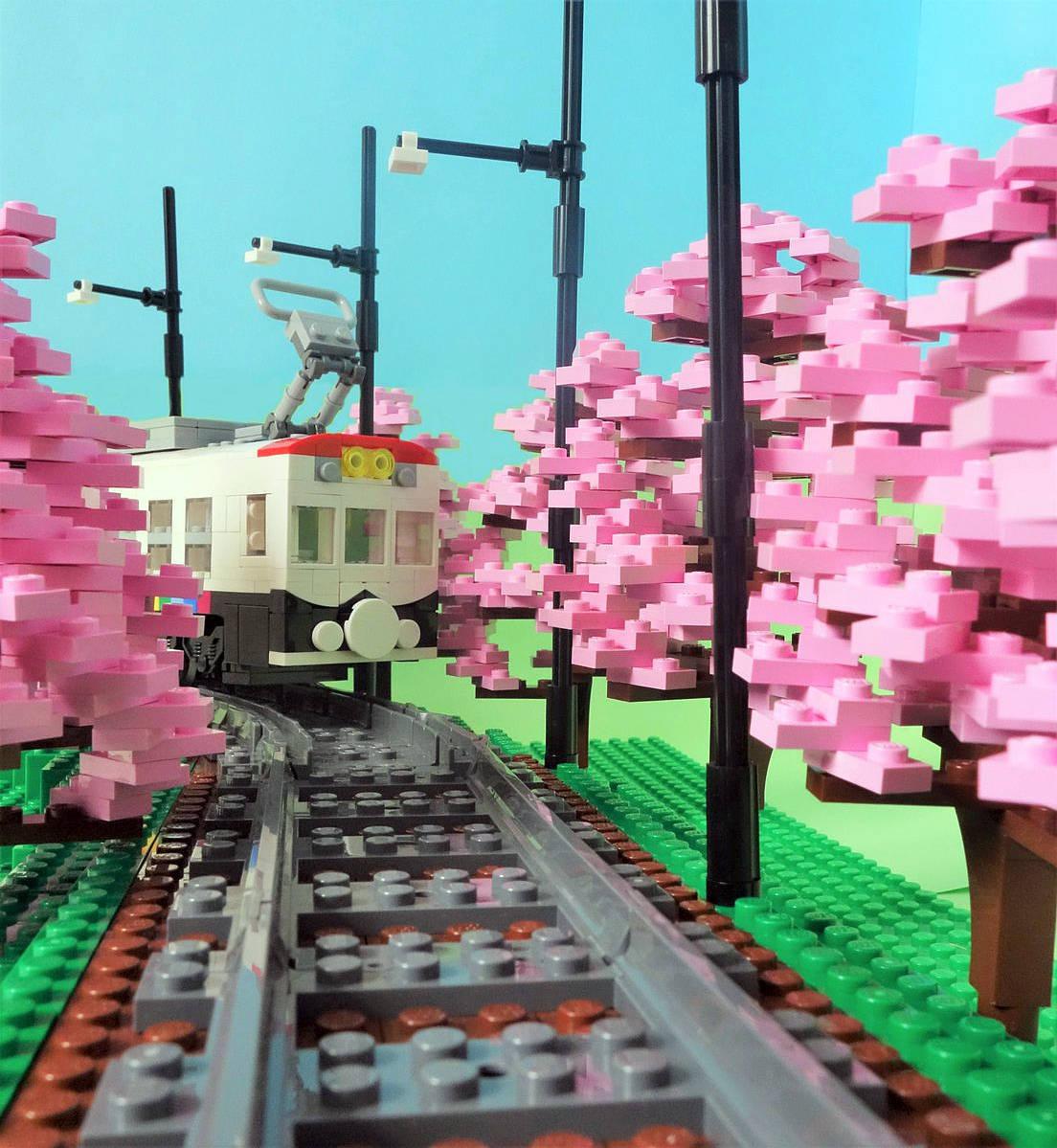 4x4 Flower Heads White LEGO
